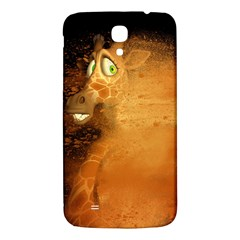 The Funny, Speed Giraffe Samsung Galaxy Mega I9200 Hardshell Back Case by FantasyWorld7