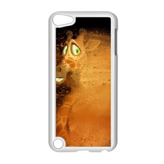 The Funny, Speed Giraffe Apple Ipod Touch 5 Case (white) by FantasyWorld7