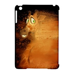 The Funny, Speed Giraffe Apple Ipad Mini Hardshell Case (compatible With Smart Cover) by FantasyWorld7