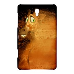 The Funny, Speed Giraffe Samsung Galaxy Tab S (8 4 ) Hardshell Case  by FantasyWorld7