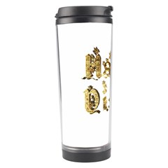 Happy Diwali Gold Golden Stars Star Festival Of Lights Deepavali Typography Travel Tumbler by yoursparklingshop