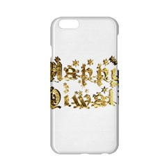 Happy Diwali Gold Golden Stars Star Festival Of Lights Deepavali Typography Apple Iphone 6/6s Hardshell Case by yoursparklingshop