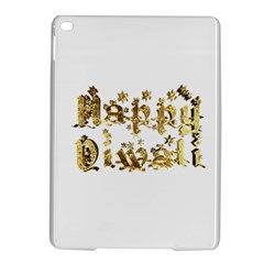 Happy Diwali Gold Golden Stars Star Festival Of Lights Deepavali Typography Ipad Air 2 Hardshell Cases by yoursparklingshop