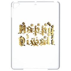 Happy Diwali Gold Golden Stars Star Festival Of Lights Deepavali Typography Apple Ipad Pro 9 7   Hardshell Case by yoursparklingshop
