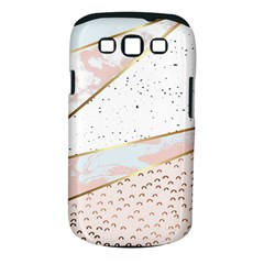 Collage,white Marble,gold,silver,black,white,hand Drawn, Modern,trendy,contemporary,pattern Samsung Galaxy S Iii Classic Hardshell Case (pc+silicone) by 8fugoso