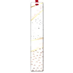 Collage,white Marble,gold,silver,black,white,hand Drawn, Modern,trendy,contemporary,pattern Large Book Marks by 8fugoso