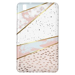 Collage,white Marble,gold,silver,black,white,hand Drawn, Modern,trendy,contemporary,pattern Samsung Galaxy Tab Pro 8 4 Hardshell Case by 8fugoso