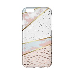 Collage,white Marble,gold,silver,black,white,hand Drawn, Modern,trendy,contemporary,pattern Apple Iphone 6/6s Hardshell Case by 8fugoso