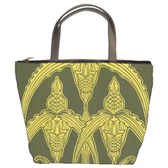 Art Nouveau Green Bucket Bags by 8fugoso