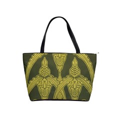 Art Nouveau Green Shoulder Handbags by 8fugoso