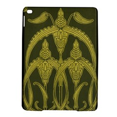 Art Nouveau Green Ipad Air 2 Hardshell Cases by 8fugoso