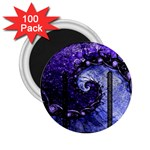 Beautiful Violet Spiral For Nocturne Of Scorpio 2.25  Magnets (100 pack)  Front
