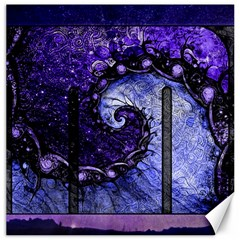 Beautiful Violet Spiral For Nocturne Of Scorpio Canvas 20  X 20   by jayaprime