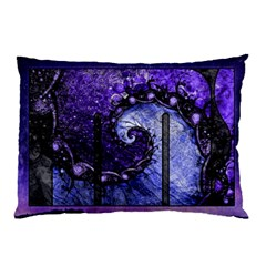 Beautiful Violet Spiral For Nocturne Of Scorpio Pillow Case by jayaprime