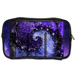 Beautiful Violet Spiral For Nocturne Of Scorpio Toiletries Bags by jayaprime