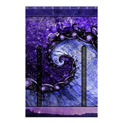 Beautiful Violet Spiral For Nocturne Of Scorpio Shower Curtain 48  X 72  (small)  by jayaprime
