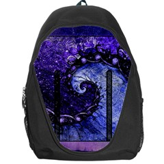 Beautiful Violet Spiral For Nocturne Of Scorpio Backpack Bag by jayaprime