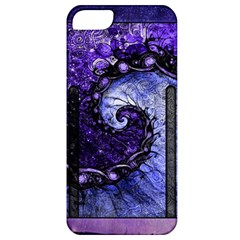 Beautiful Violet Spiral For Nocturne Of Scorpio Apple Iphone 5 Classic Hardshell Case by jayaprime