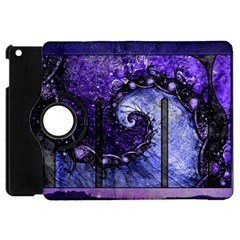 Beautiful Violet Spiral For Nocturne Of Scorpio Apple Ipad Mini Flip 360 Case by jayaprime