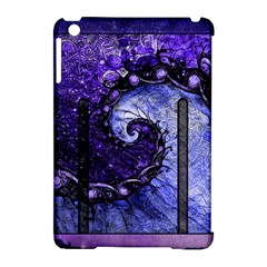 Beautiful Violet Spiral For Nocturne Of Scorpio Apple Ipad Mini Hardshell Case (compatible With Smart Cover) by jayaprime