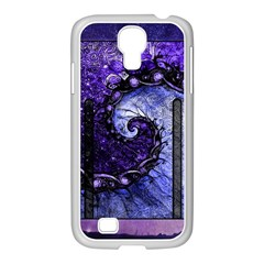 Beautiful Violet Spiral For Nocturne Of Scorpio Samsung Galaxy S4 I9500/ I9505 Case (white) by jayaprime