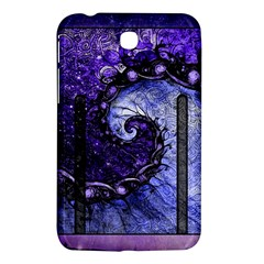 Beautiful Violet Spiral For Nocturne Of Scorpio Samsung Galaxy Tab 3 (7 ) P3200 Hardshell Case  by jayaprime