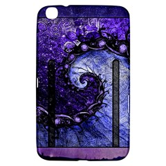 Beautiful Violet Spiral For Nocturne Of Scorpio Samsung Galaxy Tab 3 (8 ) T3100 Hardshell Case  by jayaprime