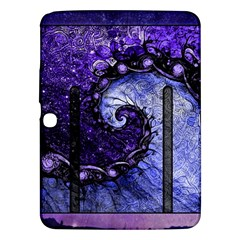 Beautiful Violet Spiral For Nocturne Of Scorpio Samsung Galaxy Tab 3 (10 1 ) P5200 Hardshell Case  by jayaprime