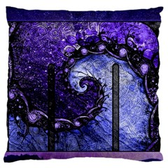 Beautiful Violet Spiral For Nocturne Of Scorpio Standard Flano Cushion Case (one Side) by jayaprime