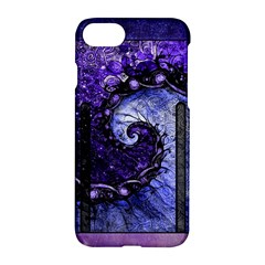 Beautiful Violet Spiral For Nocturne Of Scorpio Apple Iphone 8 Hardshell Case