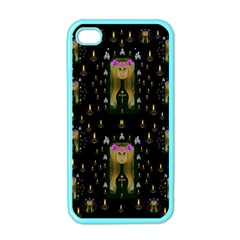 Queen In The Darkest Of Nights Apple Iphone 4 Case (color) by pepitasart