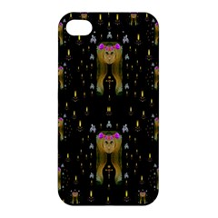 Queen In The Darkest Of Nights Apple Iphone 4/4s Premium Hardshell Case by pepitasart