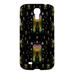 Queen In The Darkest Of Nights Samsung Galaxy S4 I9500/i9505 Hardshell Case by pepitasart
