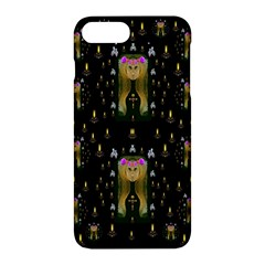 Queen In The Darkest Of Nights Apple Iphone 7 Plus Hardshell Case by pepitasart
