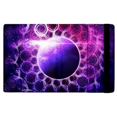 Beautiful Violet Nasa Deep Dream Fractal Mandala Apple Ipad 3/4 Flip Case by jayaprime