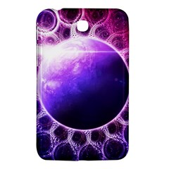 Beautiful Violet Nasa Deep Dream Fractal Mandala Samsung Galaxy Tab 3 (7 ) P3200 Hardshell Case  by jayaprime