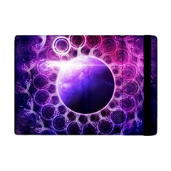 Beautiful Violet Nasa Deep Dream Fractal Mandala Ipad Mini 2 Flip Cases by jayaprime