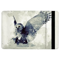 Cute Owl In Watercolor Ipad Air 2 Flip by FantasyWorld7