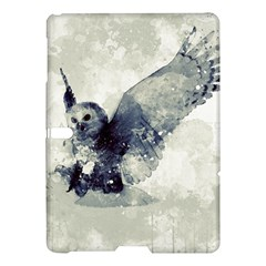 Cute Owl In Watercolor Samsung Galaxy Tab S (10 5 ) Hardshell Case  by FantasyWorld7