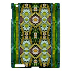 Bread Sticks And Fantasy Flowers In A Rainbow Apple Ipad 3/4 Hardshell Case by pepitasart
