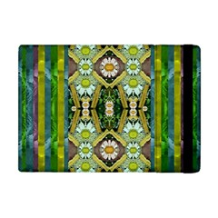 Bread Sticks And Fantasy Flowers In A Rainbow Apple iPad Mini Flip Case