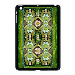 Bread Sticks And Fantasy Flowers In A Rainbow Apple iPad Mini Case (Black)