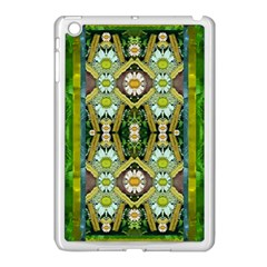 Bread Sticks And Fantasy Flowers In A Rainbow Apple iPad Mini Case (White)