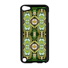 Bread Sticks And Fantasy Flowers In A Rainbow Apple iPod Touch 5 Case (Black)