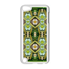 Bread Sticks And Fantasy Flowers In A Rainbow Apple iPod Touch 5 Case (White)