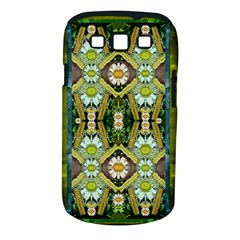 Bread Sticks And Fantasy Flowers In A Rainbow Samsung Galaxy S III Classic Hardshell Case (PC+Silicone)