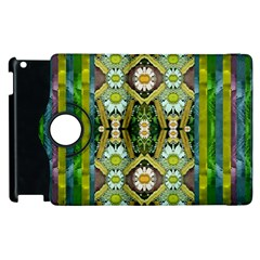 Bread Sticks And Fantasy Flowers In A Rainbow Apple iPad 2 Flip 360 Case