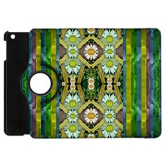 Bread Sticks And Fantasy Flowers In A Rainbow Apple iPad Mini Flip 360 Case