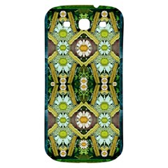 Bread Sticks And Fantasy Flowers In A Rainbow Samsung Galaxy S3 S III Classic Hardshell Back Case