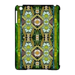 Bread Sticks And Fantasy Flowers In A Rainbow Apple iPad Mini Hardshell Case (Compatible with Smart Cover)